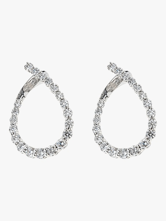 Jane Kaye Illusion Loop Earrings 0
