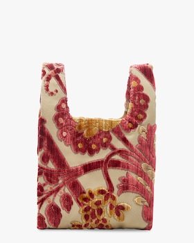 Venetian Brocade Mini Shopper Bag
