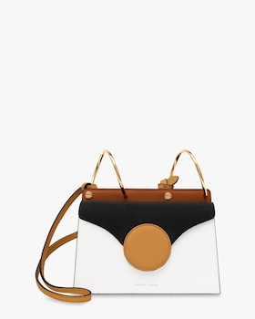Mini Phoebe Leather Shoulder Bag