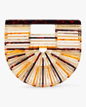 Ark Mini Amber Acrylic Clutch