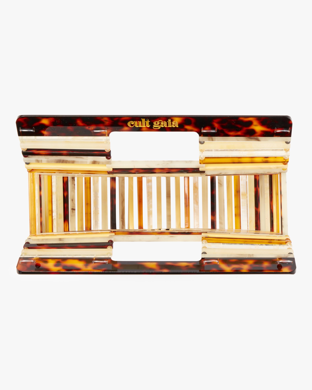 Ark Mini Amber Acrylic Clutch Cult Gaia