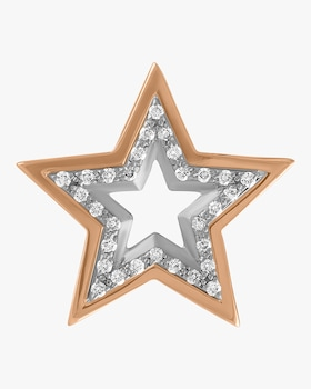 Large Star Single Earring