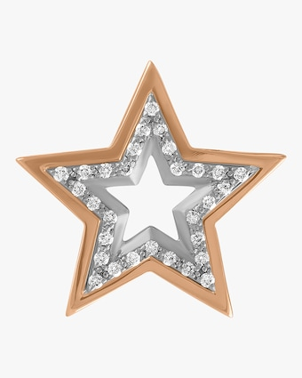 kWIT Large Star Single Earring 2