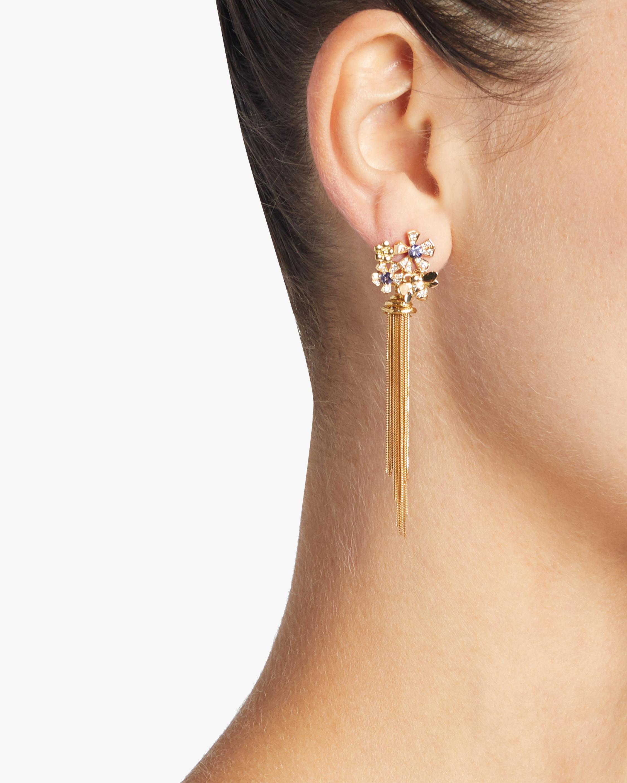 Wonderland Purple Sapphire Earrings