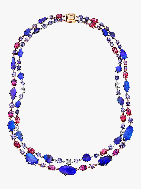 Zozo Australian Boulder Opal Necklace