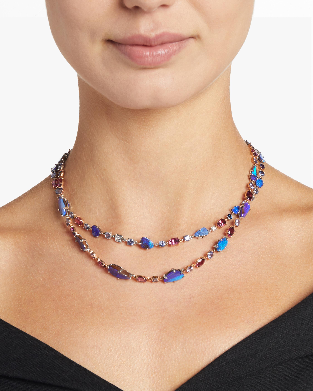 Mimi So Zozo Australian Boulder Opal Necklace 1
