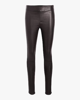 Helmut Lang Leather Leggings 1