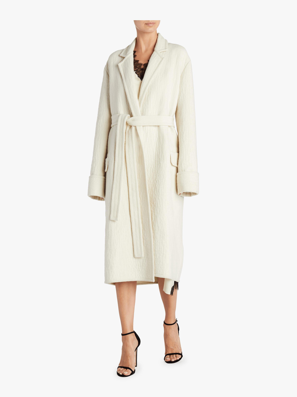 Belted Blanket Coat