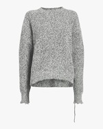 Helmut Lang Distressed Relaxed Sweater 0