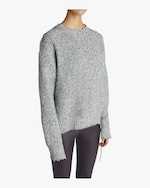 Helmut Lang Distressed Relaxed Sweater 2