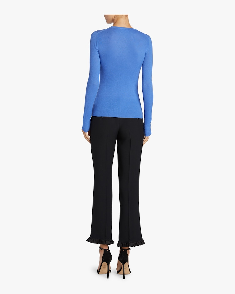 Long Sleeve Cashmere Sweater Michael Kors Collection