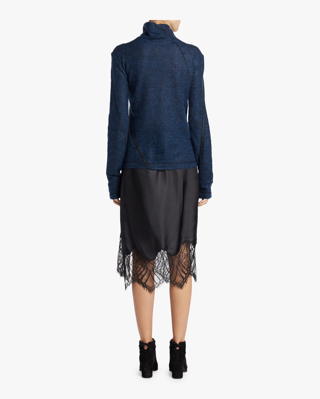 Lace Slip Skirt Helmut Lang