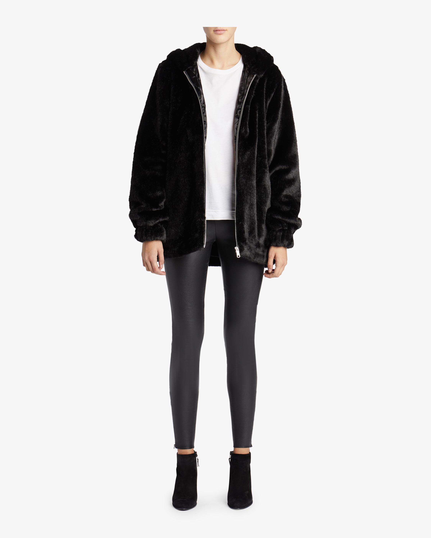 Oversized Faux Jacket