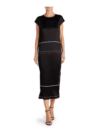 Helmut Lang Crinkle Pleated Top 2