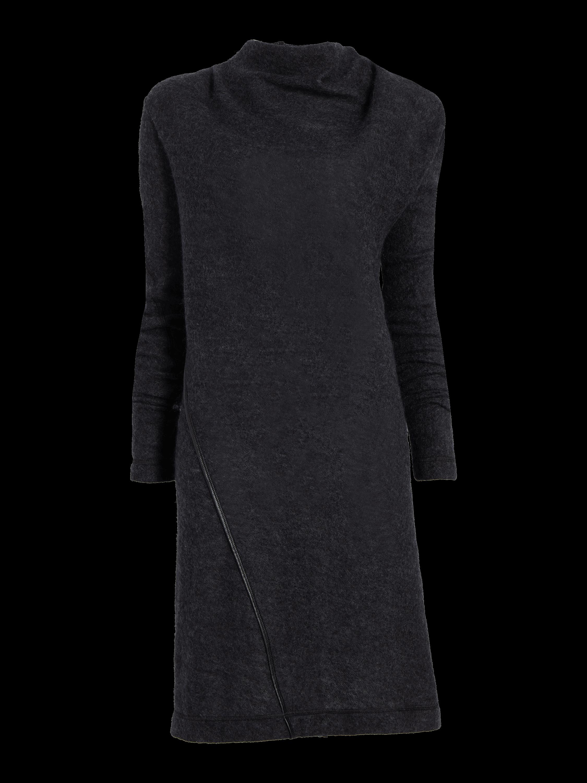 Mohair High Neck Dress