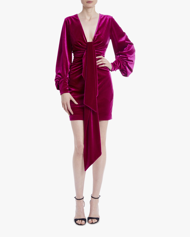 One33 Social Velvet V-Neck Mini Dress 1