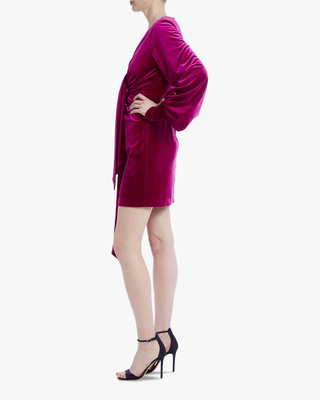 One33 Social Velvet V-Neck Mini Dress 2