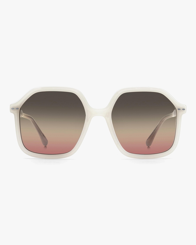 Isabel Marant Ivory Geometric Sunglasses 0