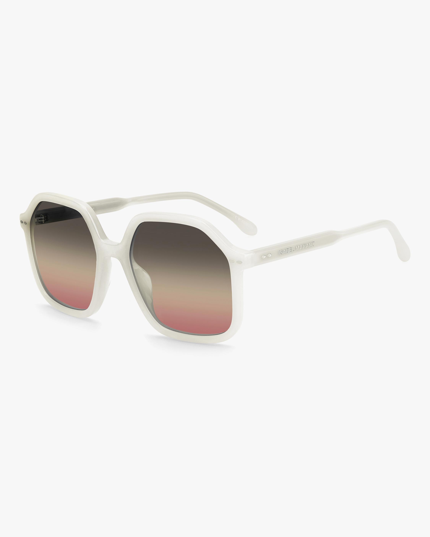 Isabel Marant Ivory Geometric Sunglasses 1