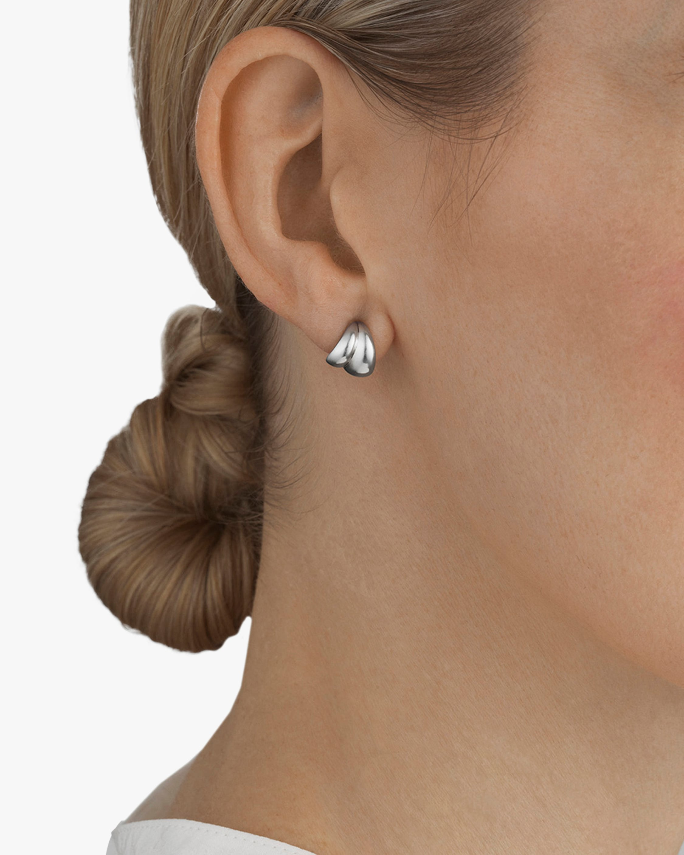 Georg Jensen Jewelry Curve Stud Earrings 2
