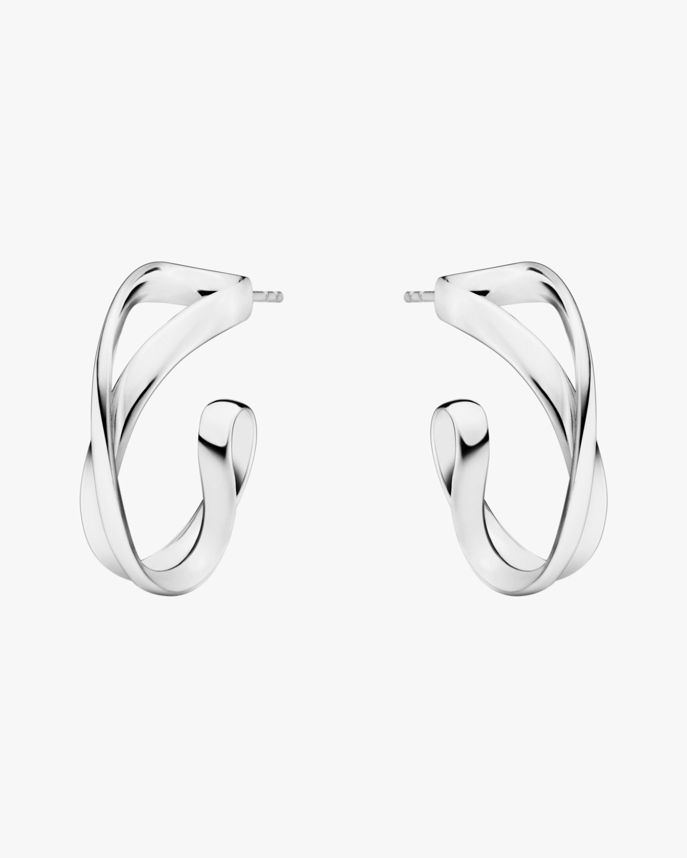 Georg Jensen Jewelry Infinity Earrings 1