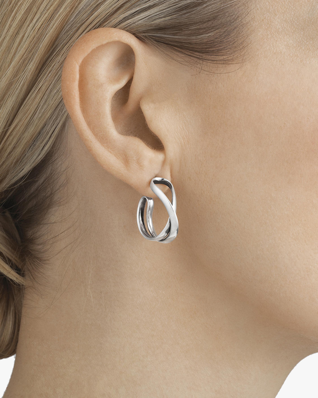 Georg Jensen Jewelry Infinity Earrings 2