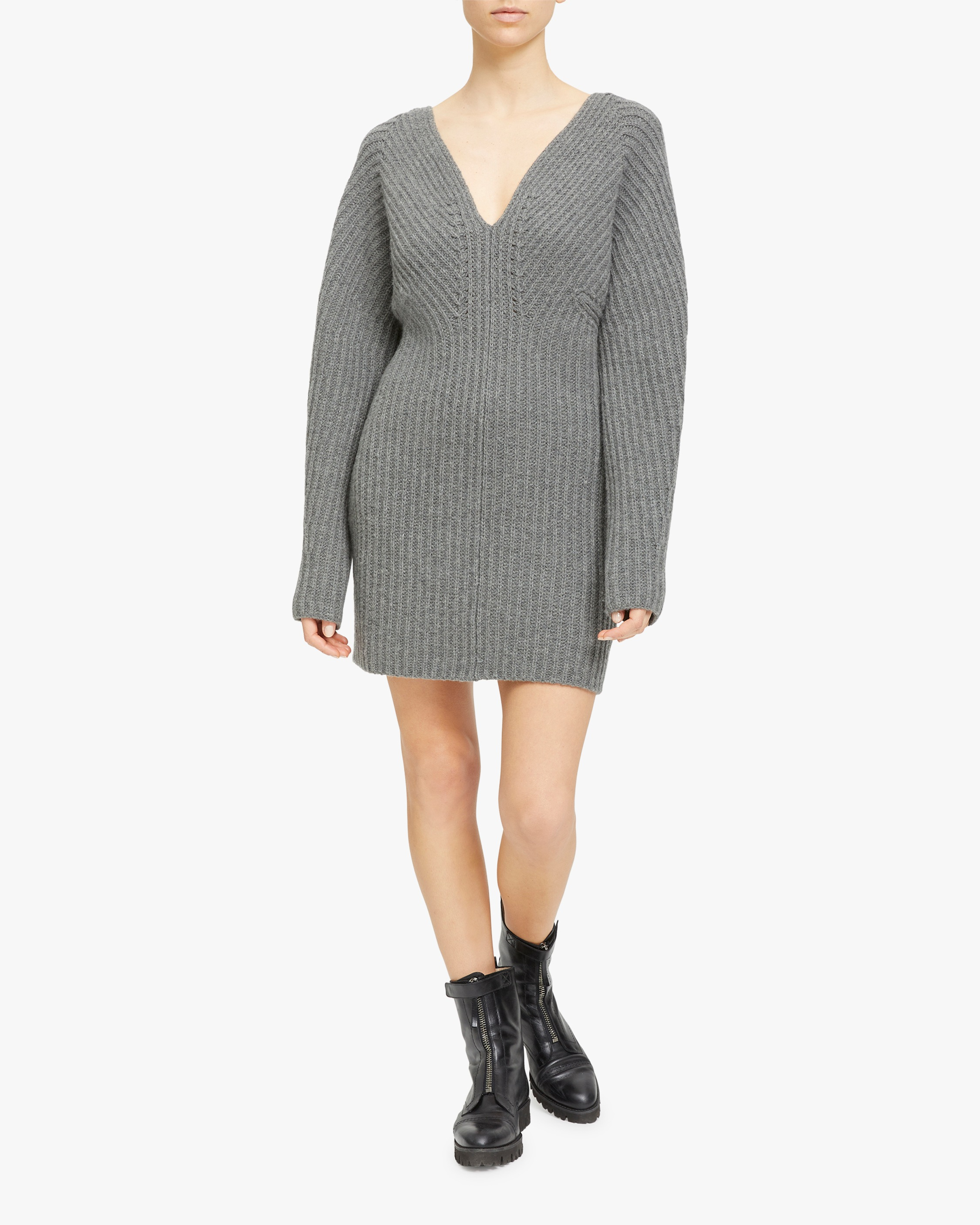 Theory Airy Sculpted Sweater Dress 2