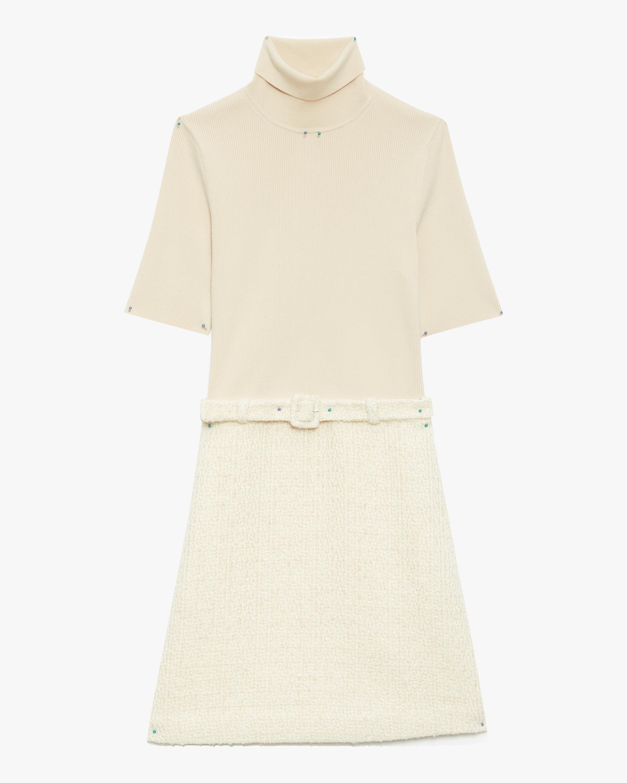 Theory Belted Sweater Mini Dress 1
