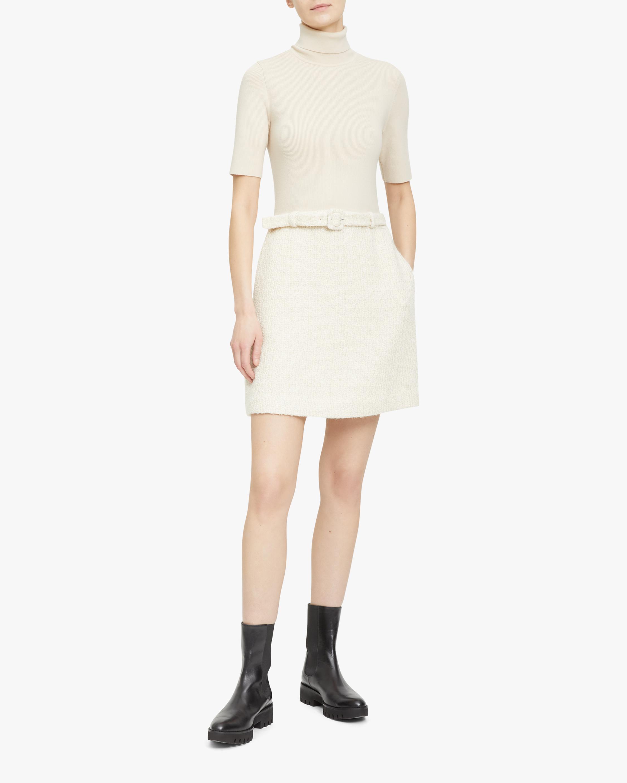 Theory Belted Sweater Mini Dress 2