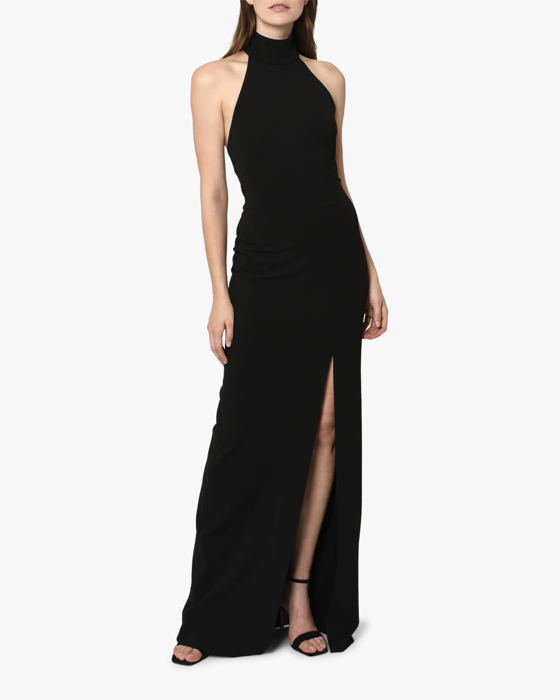 Nicole Miller Mock Neck Gown 1