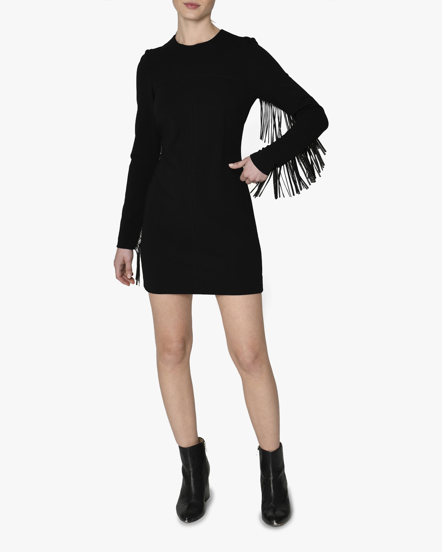Nicole Miller Rhinestone Fringe Mini Dress 1