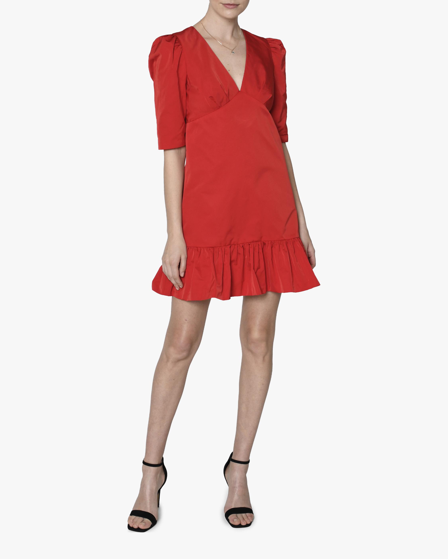 Nicole Miller V-Neck Flare Shift Dress 1