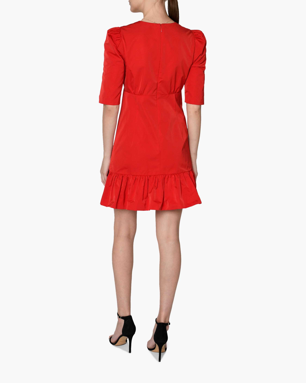 Nicole Miller V-Neck Flare Shift Dress 2