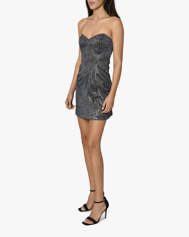 Nicole Miller Iridescent Bustier Mini Dress 2