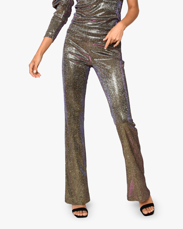 Nicole Miller Iridescent Flare Pants 1