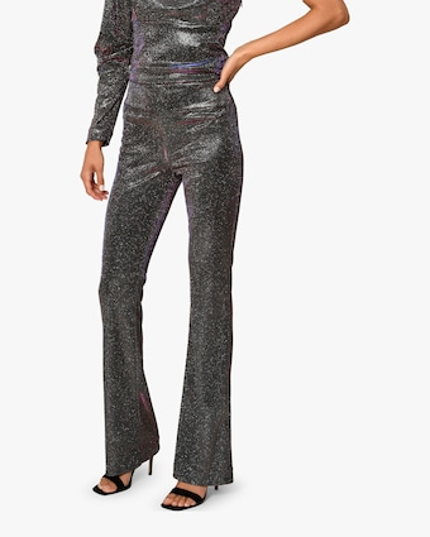 Nicole Miller Iridescent Flare Pants 2