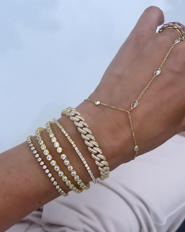 SHYMI Bezel Hand Chain 2