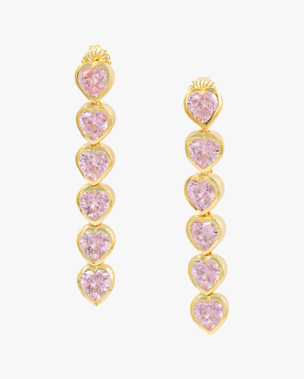 SHYMI Heart Drop Earrings 1