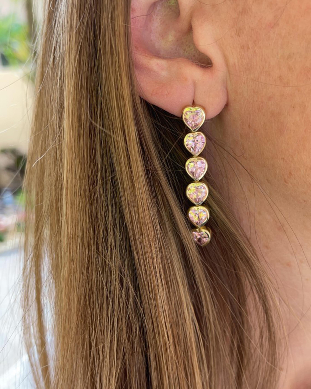 SHYMI Heart Drop Earrings 2