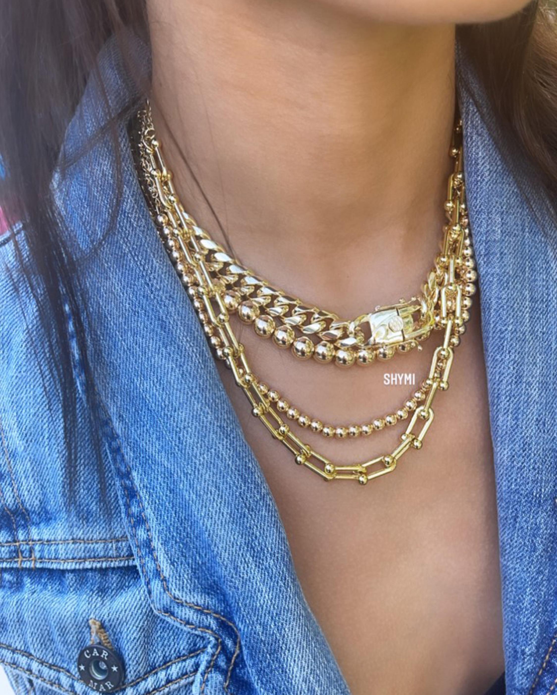SHYMI U-Link Chain Necklace 2