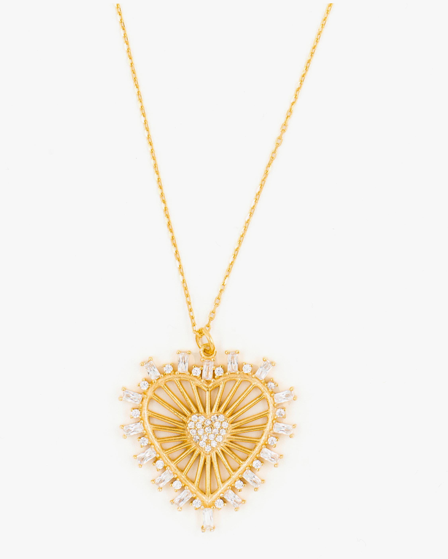 SHYMI Heart Medallion Pendant Necklace 1