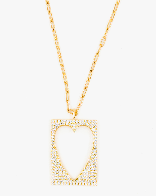 SHYMI Exclusive Open-Heart Pendant Necklace & Chain Set 2