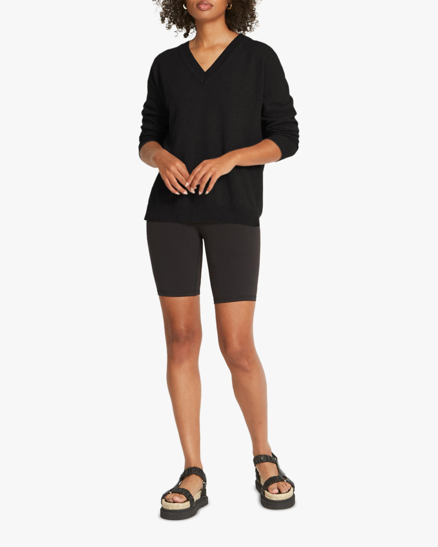 Santicler Crista V-Neck Cashmere Sweater 1