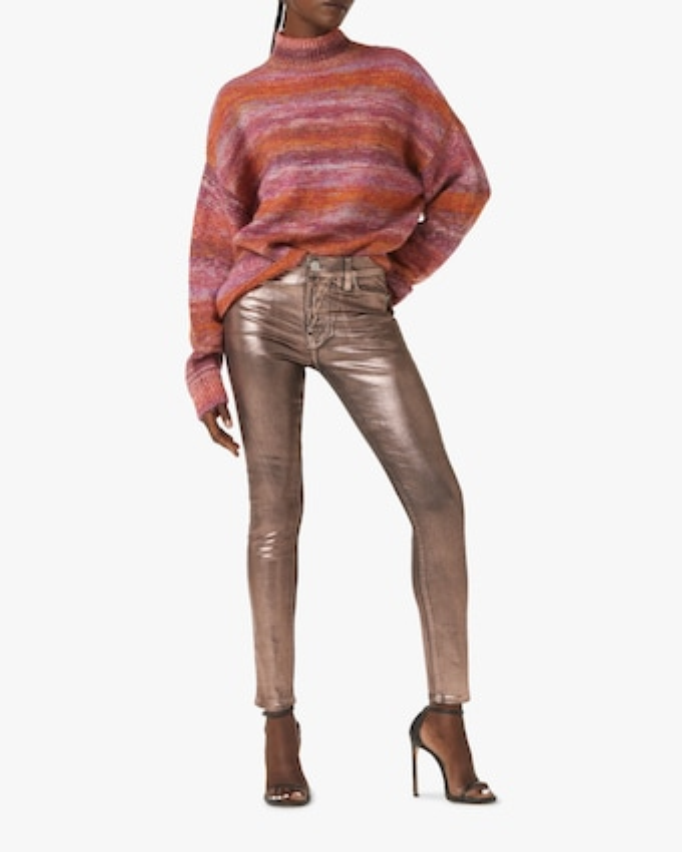 Hudson Mock-Neck Sweater 2