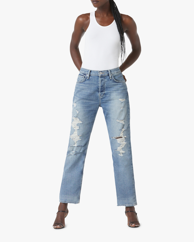 Hudson Thalia Straight Ankle Jeans 1