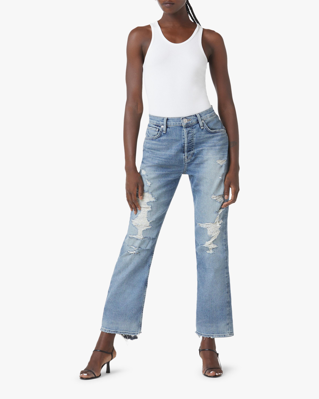 Hudson Thalia Straight Ankle Jeans 2
