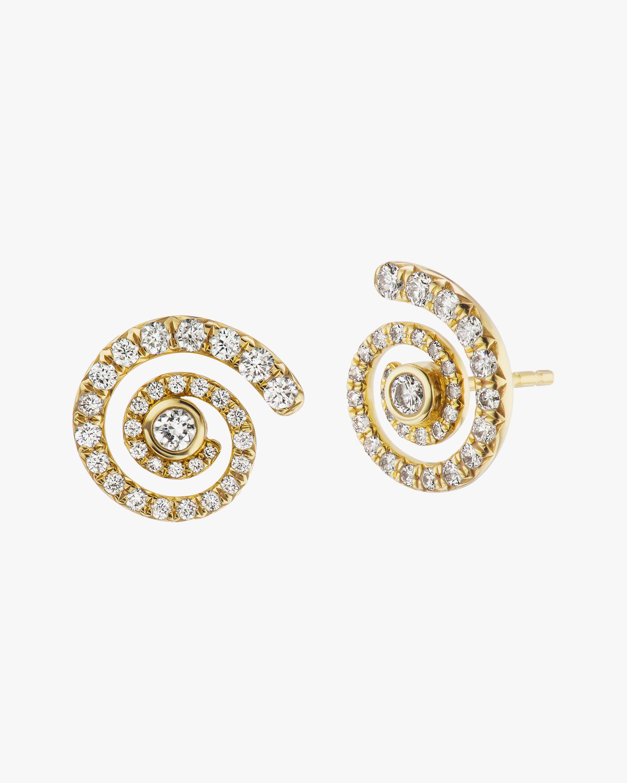 ARK Diamond-Trim Destiny Stud Earrings 1