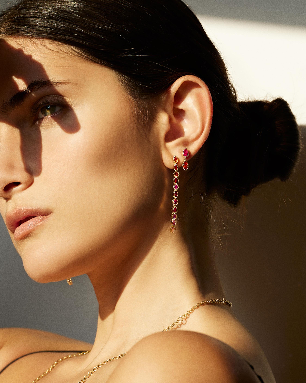 ARK Sapphire Lakshmi Sapphire Drop Earrings 2