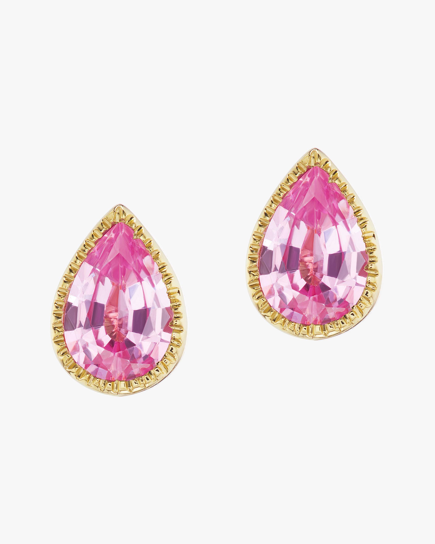 ARK Diamond Lakshmi Teardrop Stud Earrings 2