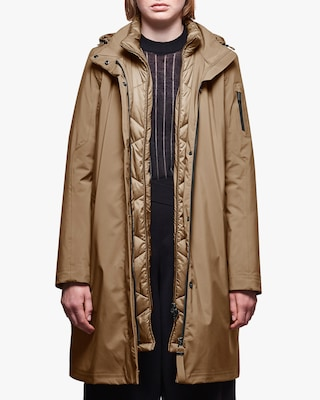 Sphere II Silk Touch Parka